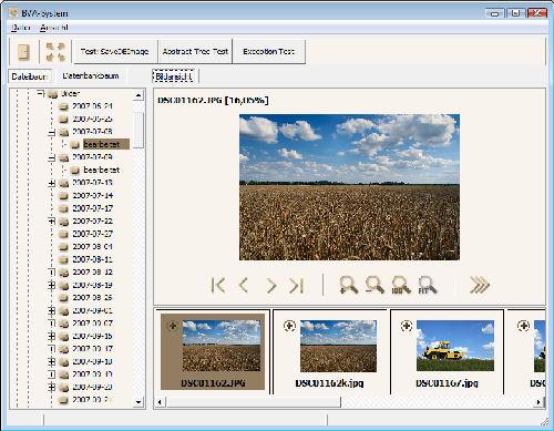 Screenshot vom BVASystem 2.0.0.6
