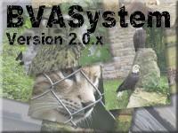 Startbildschrim des BVASystems