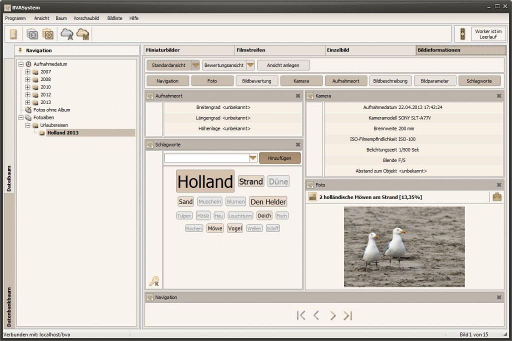 BVASystem 2.1.5 - Bildinformationen