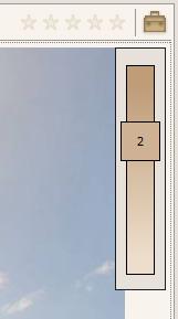 Overlay zur Anzeige einer aktiven Bildfilterung